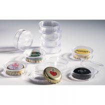 10 capsules pour muselets de Champagne (diam. 31mm, haut. 9mm)