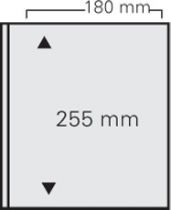 10 feuilles intercalaires noires pour Art-Line et Louis