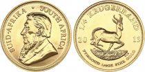 Afrique du Sud 1/4 Kruggerand Paul Kruger - 1/4 Once Or - Springbok 2013
