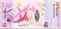 Bermudes 5 Dollars Blue Marlin - Pont de Somerset - 2009