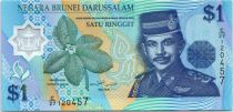 Brunéi Darussalam 1 Ringgit Sultan J.A.H. Bolkiah - Polymer - 1996