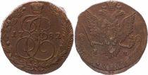 C.59.3 5 Kopeks, Catherine II - Aigle - 1782 E M Ekateringburg