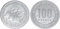 Cameroun 100 Francs Elans - 1971 - Essai