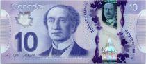 Canada 10 Dollars Sir John A. Macdonald - Polymer - 2012 (2015)