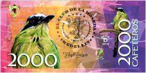 Colombie (Club de Medellin) 2000 Cafeteros, Colombia : Momotus Momota - 2016