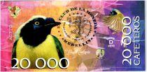 Colombie (Club de Medellin) 20000 Cafeteros, Colombia : Cyanocorax Yncas - 2016