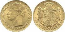 Danemark 20 Kroner Frederik VIII - 1909