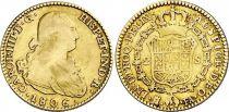Espagne 2 Escudos Charles IV - Armoiries 1806 M Madrid
