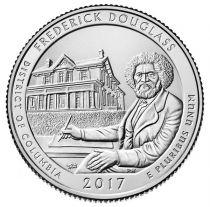 Etats Unis d´Amérique 1/4 Dollar Frederick Douglass Park - S San Francisco - 2017