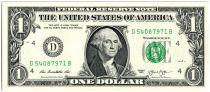 Etats Unis d´Amérique 1 Dollar Washington - 2013 - D4 Cleveland