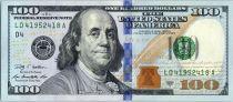 Etats Unis d´Amérique 100 Dollars Franklin -  D4 Cleveland - 2009 A
