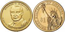 Etats Unis d´Amérique KM.571 1 Dollar, Harding - 2014 P Philadelphie