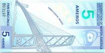 Fédération d\'Amérique du Nord 5 Ameros, Pont Ambassador - 2011