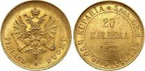 Finlande 20 Markka Aigle à 2 têtes - 1912 S