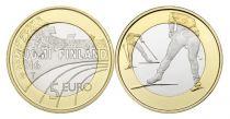 Finlande 5 Euro, Ski de Fond - 2016
