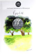 France - Monnaie de Paris 10 Euro Eté 2014 - Egalité