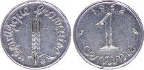 France 1 Centime Epi - 1962