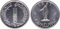 France 1 Centime Epi - 1981