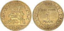 France 1 Franc Chambre de Commerce - 1924 fermé