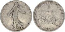 France 1 Franc Semeuse - 1898 - TB