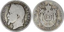 France 1 Francs Napoléon III - 1868 A Paris
