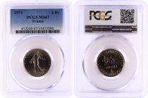 France 1 Francs Semeuse  - 1973 - PCGS MS 67