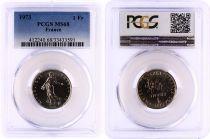 France 1 Francs Semeuse  - 1973 - PCGS MS 68