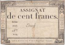 France 100 Francs 18 Nivose An III - 7.1.1795 - Sign. Edouard