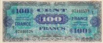 France 100 Francs Impr. américaine (France) - 1945 Série X 07440578