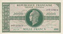 France 1000 Francs Marianne - 1945 Lettre D - Série 07 D 229814