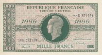 France 1000 Francs Marianne - 1945 Lettre D - Série 18 D 371958