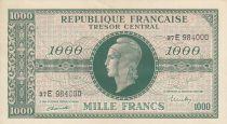 France 1000 Francs Marianne - 1945 Lettre E - Série 37 E 984000