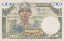 France 1000 Francs Mercure -Trésor Francais - 1947 B.1 66222