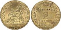 France 2 Francs Chambre de Commerce -1921