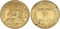 France 2 Francs Chambre de Commerce -1924