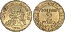 France 2 Francs Chambre de Commerce -1926