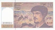 France 20 Francs Debussy - 1995 Série M.48