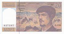 France 20 Francs Debussy - 1997 Série O.056