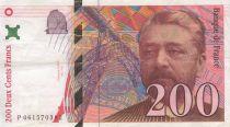 France 200 Francs Eiffel - dates diverses