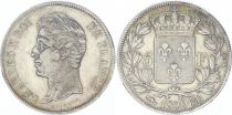 France 5 Francs Charles X - Type 2 - 1829 BB Strasbourg