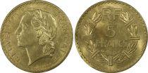 France 5 Francs Lavrillier - 1940 - PCGS MS 64