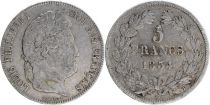 France 5 Francs Louis-Philippe 1er - 1834 T Nantes
