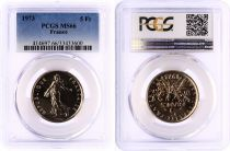 France 5 Francs Semeuse  - 1973 - PCGS MS 66