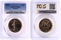 France 5 Francs Semeuse  - 1973 - PCGS MS 68