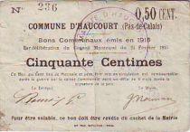 France 50 Centimes Haucourt