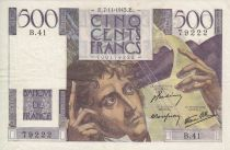 France 500 Francs Chateaubriand - B.41- 1945