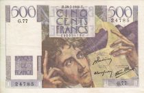 France 500 Francs Chateaubriand - G.77 - 1946