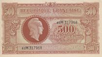 France 500 Francs Marianne - 1945 Lettre M - Série 42 M 317968