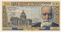 France 500 Francs Victor Hugo - O.94 - 1958