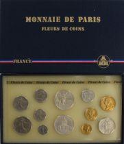 France FDC.1986 Coffret FDC 1986 - Monnaie de Paris